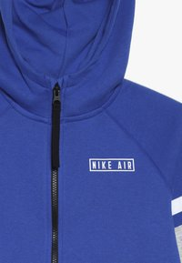 Nike Sportswear - AIR  - Hoodie met rits - game royal/black/white - 4