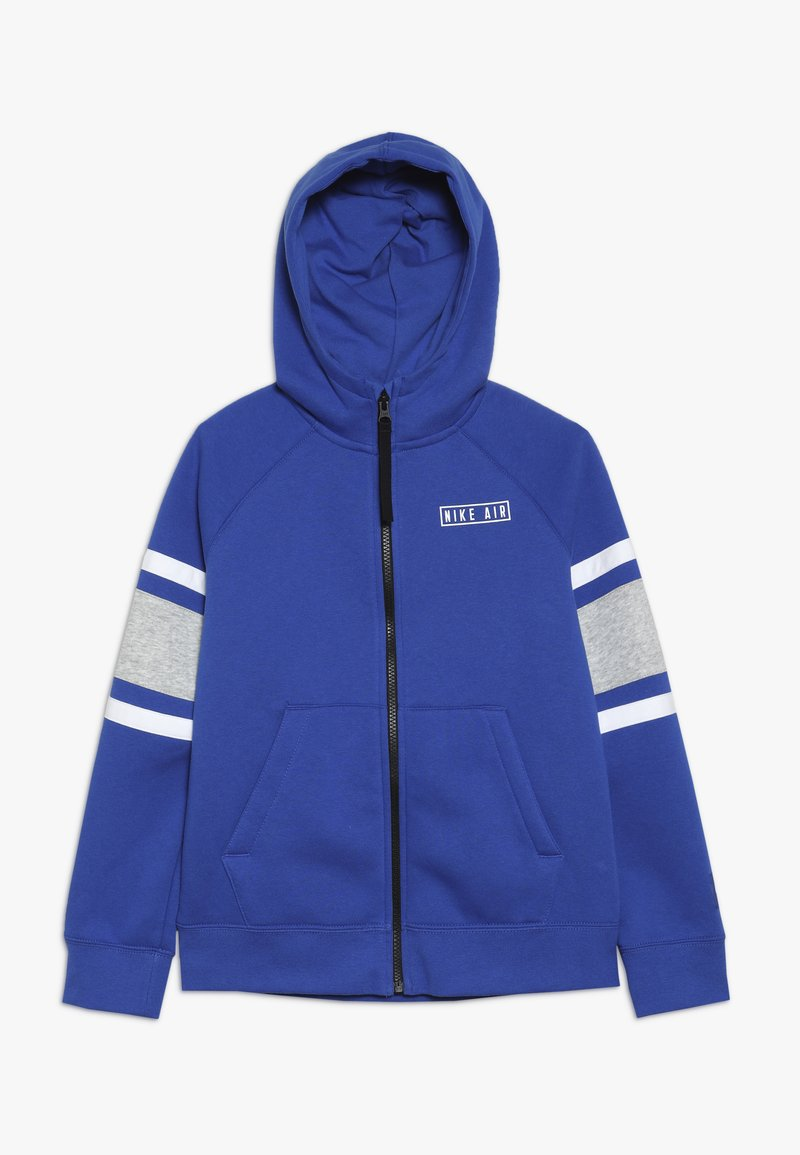 Nike Sportswear - AIR  - Hoodie met rits - game royal/black/white