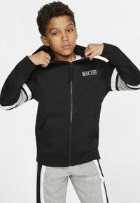 Nike Sportswear - AIR  - Felpa aperta - black - 1