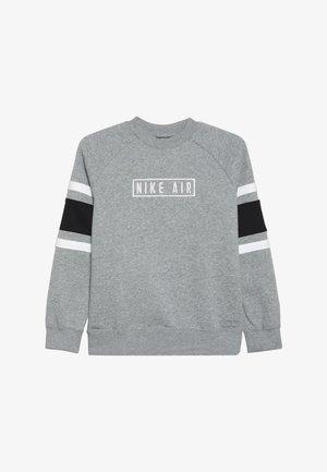 AIR CREW - Felpa - dark grey heather/black/white