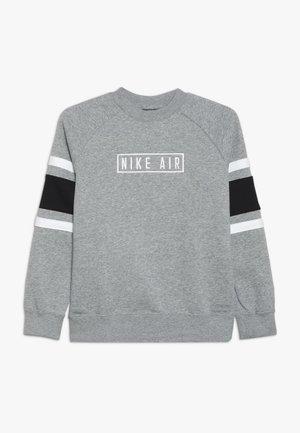 AIR CREW - Sweatshirt - dark grey heather/black/white