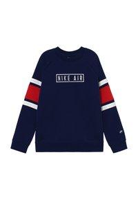 Nike Sportswear - AIR CREW - Sweater - blue void/university red/white - 2
