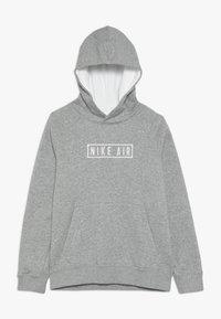 Nike Sportswear - AIR HOODIE - Hoodie - dark grey heather/summit white - 0