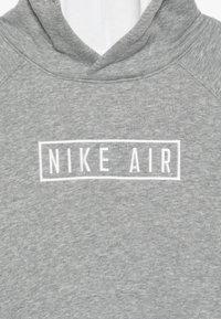 Nike Sportswear - AIR HOODIE - Hoodie - dark grey heather/summit white - 4