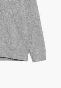 Nike Sportswear - AIR HOODIE - Hoodie - dark grey heather/summit white - 2
