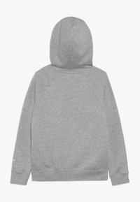 Nike Sportswear - AIR HOODIE - Hoodie - dark grey heather/summit white - 1