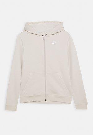 HOODIE CLUB - Zip-up hoodie - orewood/white