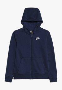 Nike Sportswear - HOODIE CLUB - Bluza rozpinana - midnight navy - 0