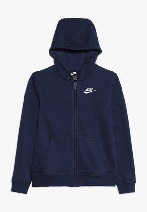 HOODIE CLUB - Bluza rozpinana - midnight navy