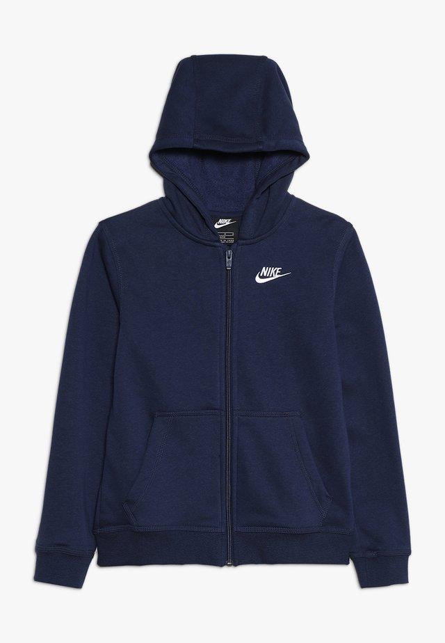 HOODIE CLUB - Zip-up hoodie - midnight navy