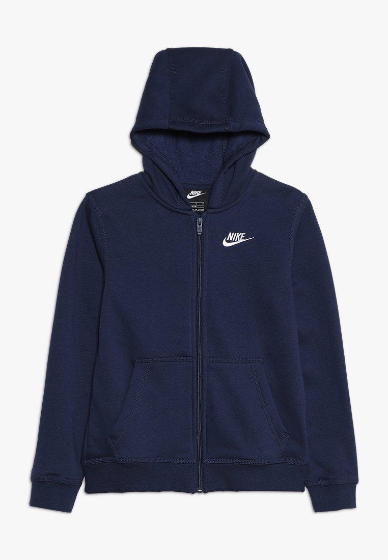 Nike Sportswear - HOODIE CLUB - Bluza rozpinana - midnight navy