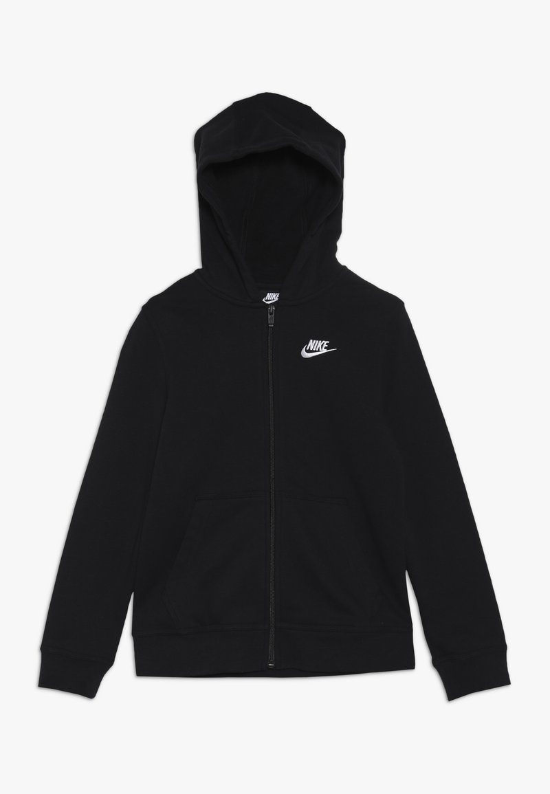 Nike Sportswear - HOODIE CLUB - veste en sweat zippée - black