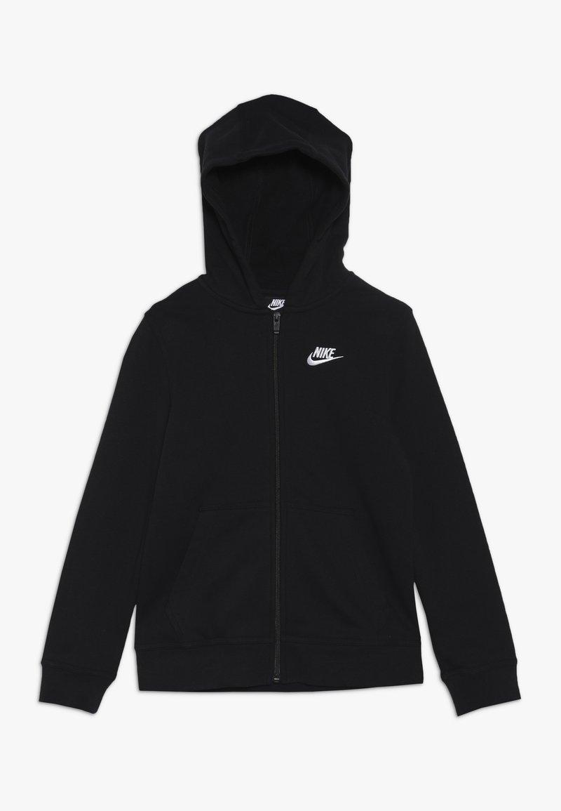 Nike Sportswear - HOODIE CLUB - Huvtröja med dragkedja - black