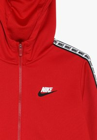 Nike Sportswear - HOODIE TAPED - Kurtka sportowa - university red/white - 4