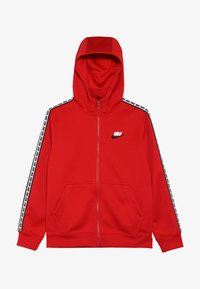 Nike Sportswear - HOODIE TAPED - Kurtka sportowa - university red/white - 3