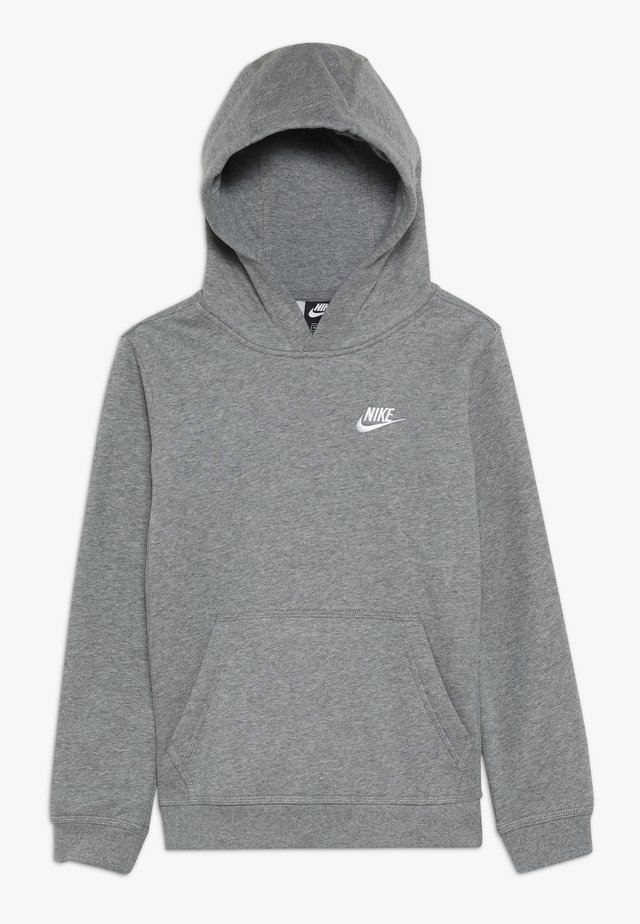 HOODIE CLUB - Kapuzenpullover - carbon heather/white