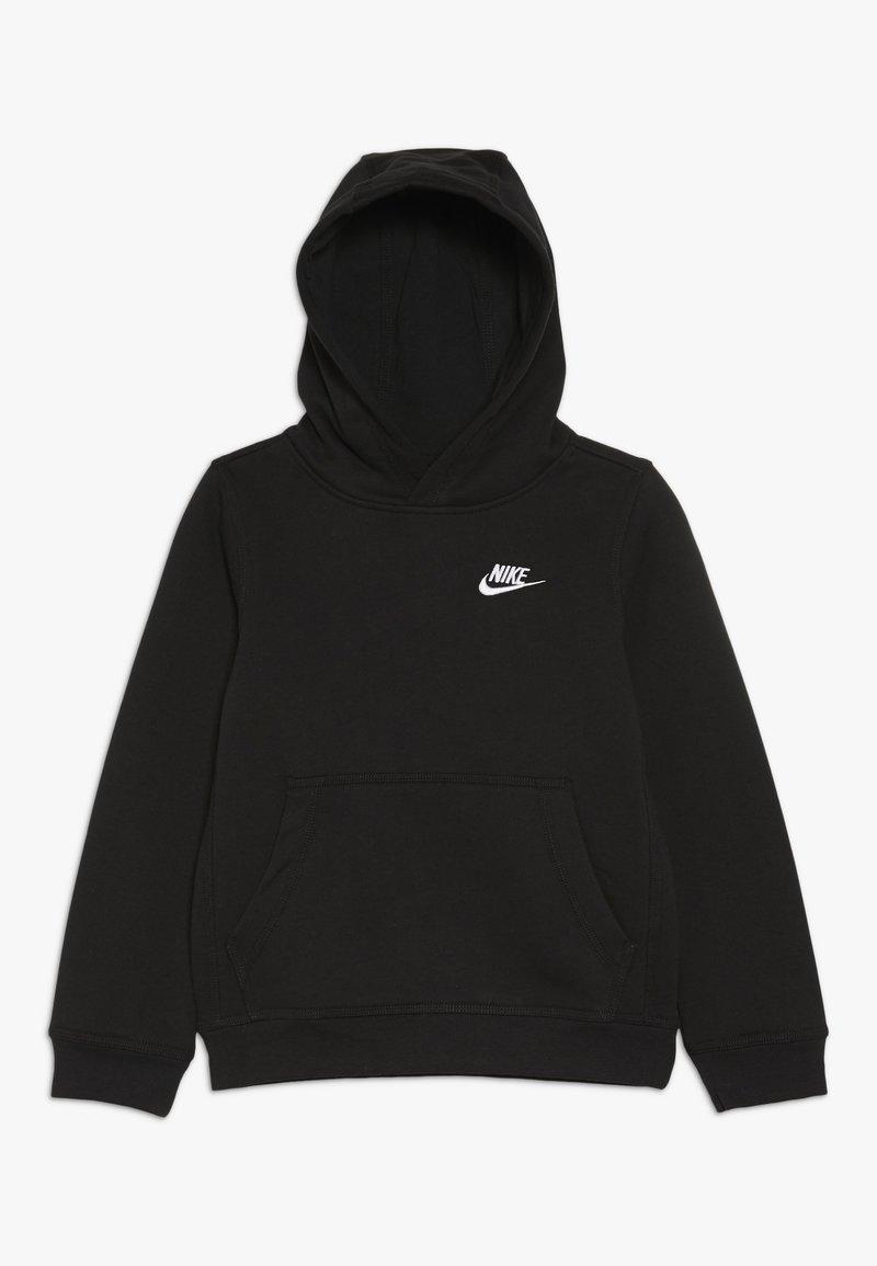 Nike Sportswear - HOODIE CLUB - Sweat à capuche - black/white