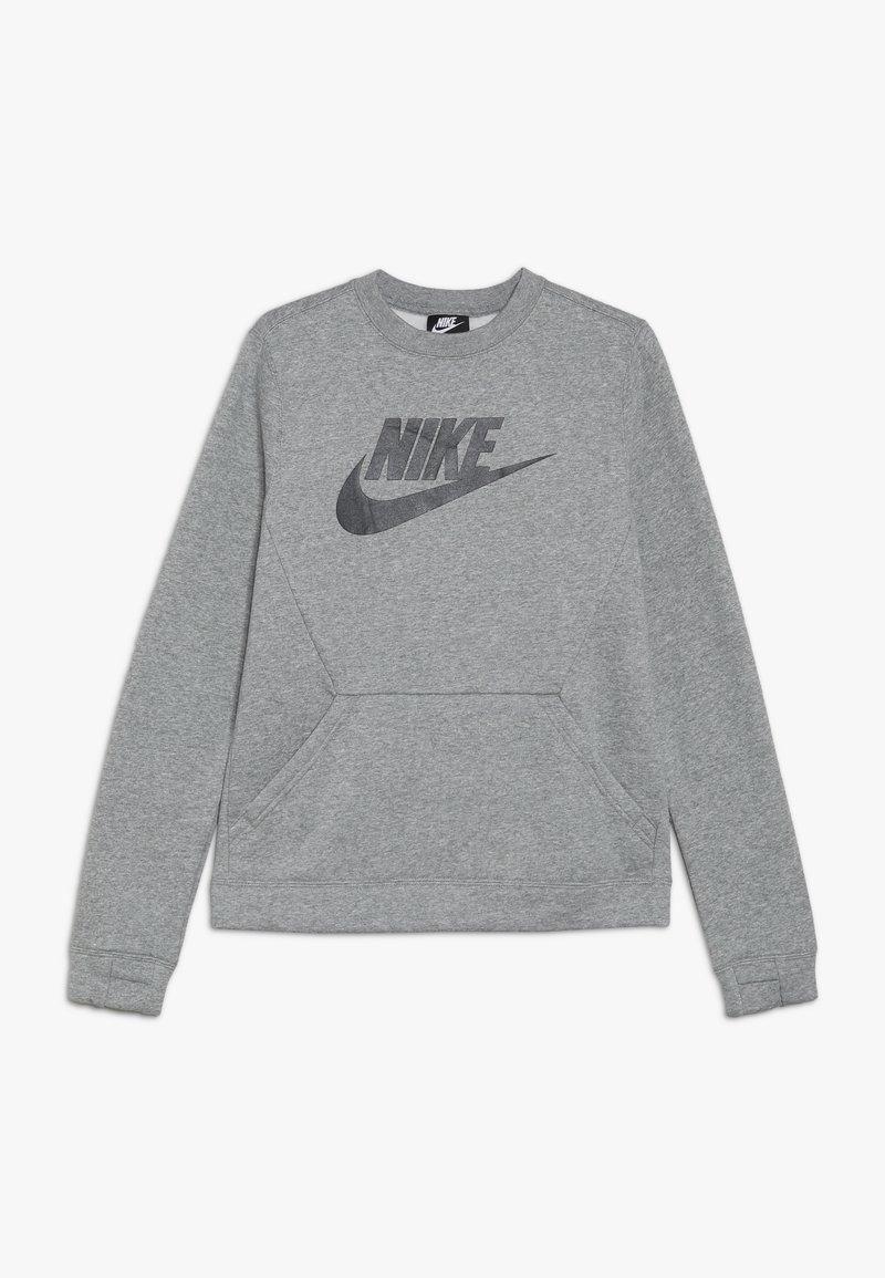Nike Sportswear - CREW CLUB - Sweatshirt - dark grey heather/black