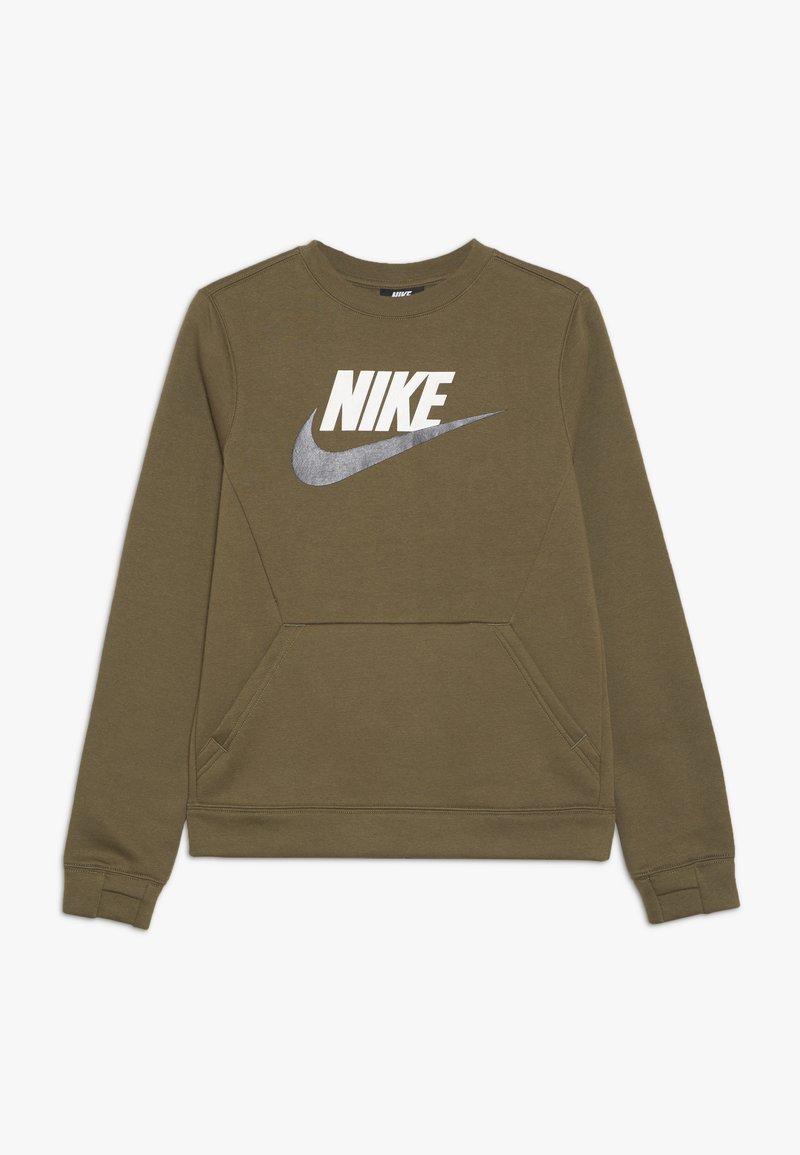 Nike Sportswear - CREW CLUB - Bluza - medium olive