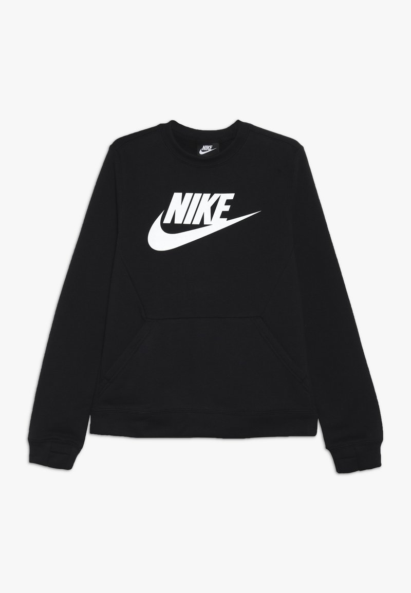 Nike Sportswear - CREW CLUB - Sweatshirt - black/white
