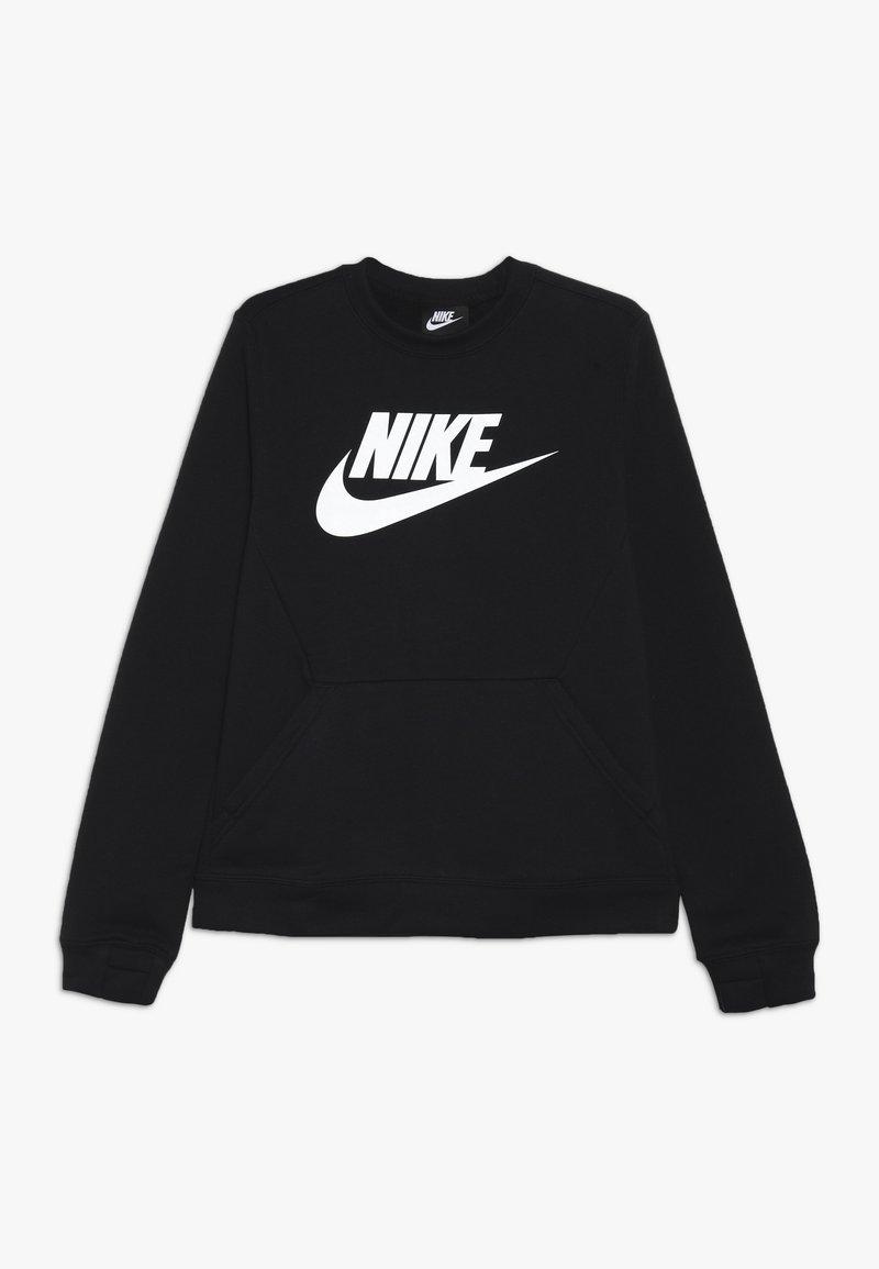 Nike Sportswear - CREW CLUB - Sweater - black/white