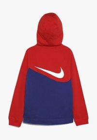 Nike Sportswear - HOODIE  - Felpa aperta - deep royal blue/university red/white - 1