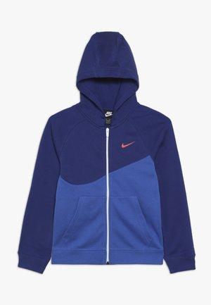 HOODIE  - veste en sweat zippée - game royal/deep royal blue/white/team orange