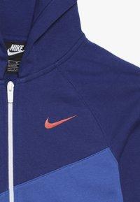Nike Sportswear - HOODIE  - Sweatjakke /Træningstrøjer - game royal/deep royal blue/white/team orange - 4