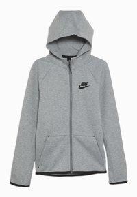 Nike Sportswear - TECH FLEECE ESSENTIALS - Bluza rozpinana - dark grey heather/black - 0