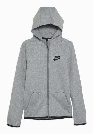 TECH FLEECE ESSENTIALS - veste en sweat zippée - dark grey heather/black