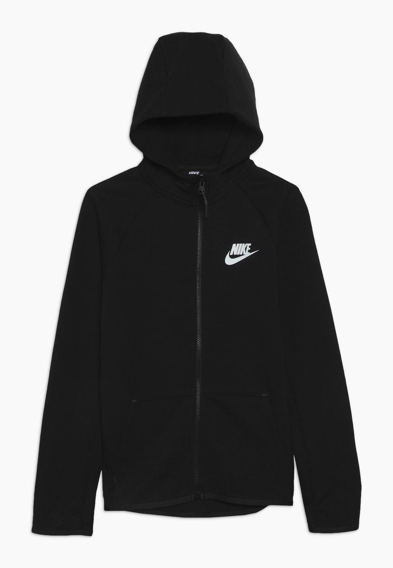 Nike Sportswear - TECH FLEECE ESSENTIALS - Hoodie met rits - black/white