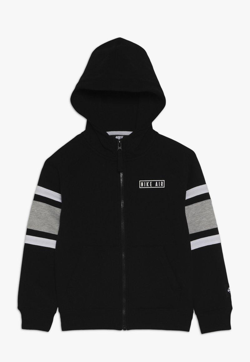 Nike Sportswear - AIR HOODIE - veste en sweat zippée - black
