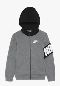 Nike Sportswear - NIKE CORE HOODIE - Collegetakki - carbon heather - 0