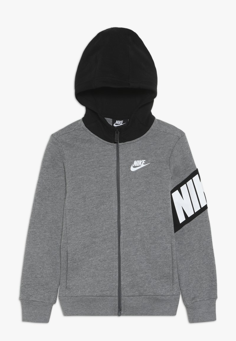 Nike Sportswear - NIKE CORE HOODIE - Collegetakki - carbon heather