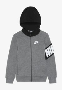 Nike Sportswear - NIKE CORE HOODIE - veste en sweat zippée - carbon heather - 3