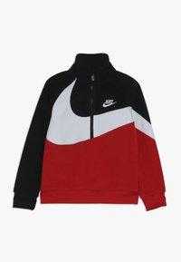 Nike Sportswear - SHERPA 1/2 ZIP - Bluza z polaru - black - 0