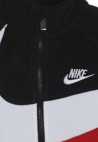 Nike Sportswear - SHERPA 1/2 ZIP - Bluza z polaru - black - 4