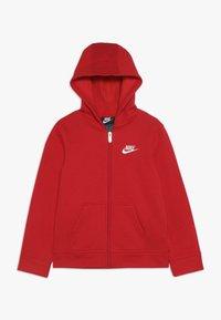 Nike Sportswear - CLUB HOODIE - Bluza rozpinana - university red - 0