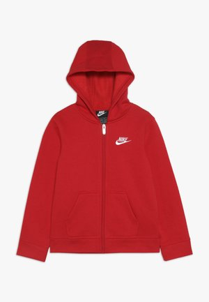 CLUB HOODIE - Felpa aperta - university red