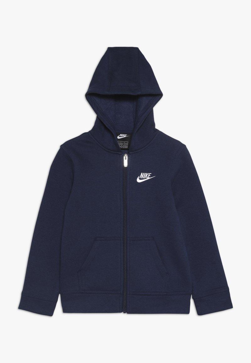 Nike Sportswear - CLUB HOODIE - Zip-up hoodie - midnight navy