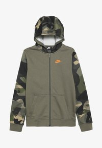 medium olive/total orange