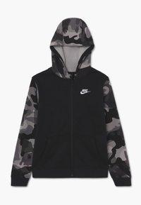 Nike Sportswear - CLUB - veste en sweat zippée - black/white - 0