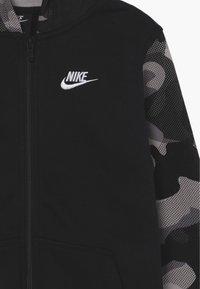 Nike Sportswear - CLUB - veste en sweat zippée - black/white - 3