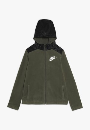WINTERIZED - Mikina na zip - medium olive/black