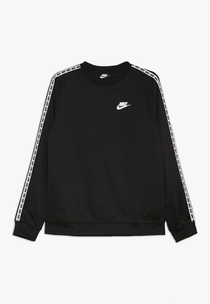 Nike Sportswear - REPEAT CREW  - Maglietta a manica lunga - black/white