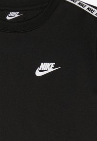 Nike Sportswear - REPEAT CREW  - T-shirt à manches longues - black/white