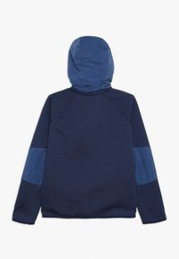 Nike Sportswear - WINTERIZED - Zip-up hoodie - midnight navy/heather/mystic navy/white - 1