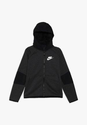 WINTERIZED - Zip-up hoodie - black/heather/black/white