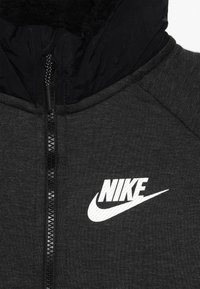 Nike Sportswear - WINTERIZED - Mikina na zip - black/heather/black/white - 4