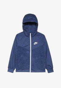 Nike Sportswear - WINTERIZED - Fleecejacka - mystic navy/white - 3